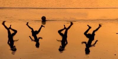 Futbol en la playa. Toni Matas Barceló