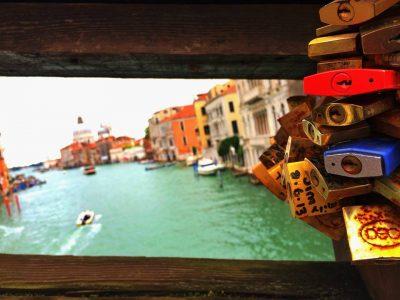 Venecia y candados Moccia
