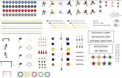 Recursos Representación Gráfica Ejercicios de Fútbol
