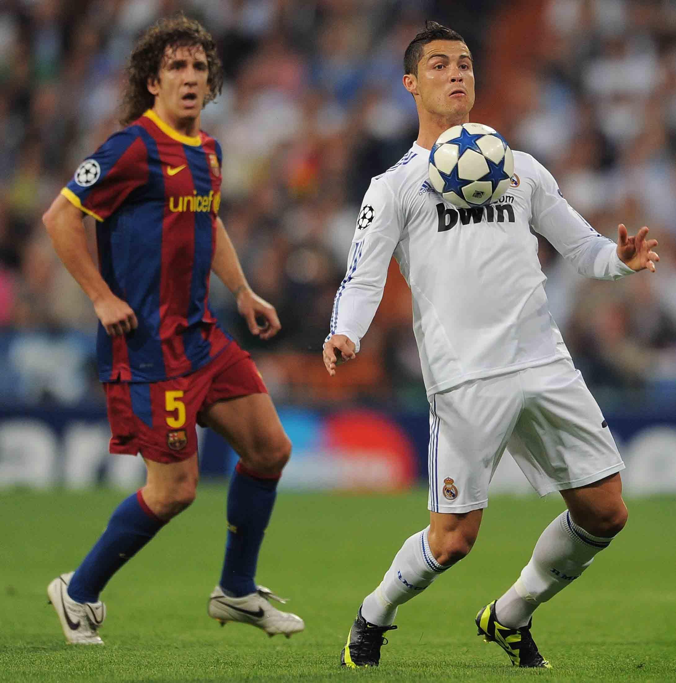 Duelo 1x1. Marcaje Carles Puyol & Cristiano Ronaldo