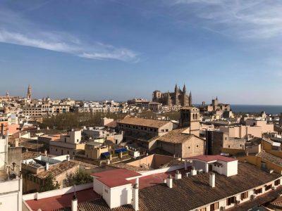 Skybar y terraza del Hotel Almudaina en Palma. Mejores vistas de Palma de Mallorca