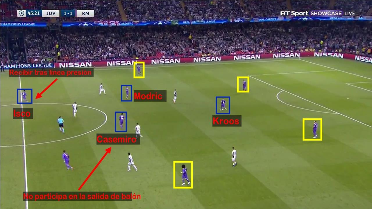 Casemiro. Final Champions League 16/17. Juventus 1 - Real Madrid 4