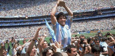 Maradona Mundial Mexico 86