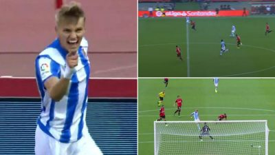 Análisis Gol Ödegaard. RCD Mallorca 0 - Real Sociedad 1. Primera División 19/20