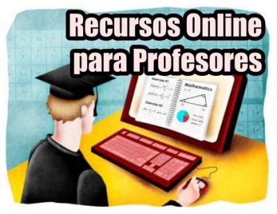 Recursos Online para profesores. E-learning. Aprendizaje online. Aprendizaje a distancia.
