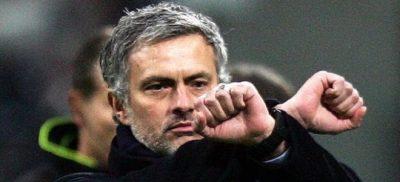 Jose Mourinho. Mou. The Special One. Grilletes en el Camp Nou