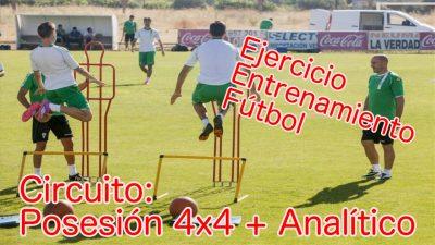 Circuito Físico. Ejercicio de Entrenamiento para la Preparación Física en el Fútbol