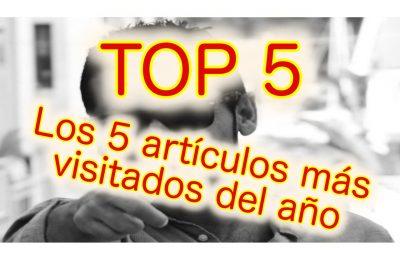 TOP5. Los  5 artículos más visitados en la web durante el 2020