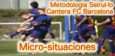 Seirul·lo sobre la inclusión de MicroSituaciones en el Fútbol Base del FC Barcelona.