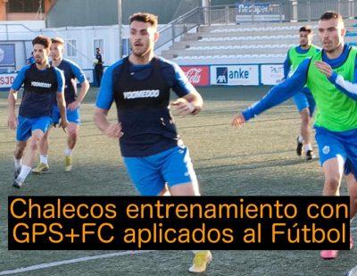 Todo sobre… Chalecos de Entrenamiento con GPS y FC en el Fútbol Profesional, Amateur y Base